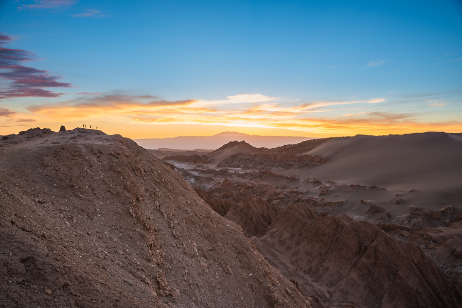 Valle de la Luna Sunset